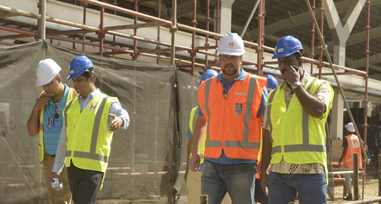 A-G Happy With Nadi International Airport Work Progress