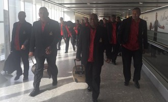RFMF Band Lands In UK