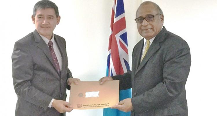 Brunei Donates Towards TC Winston Appeal