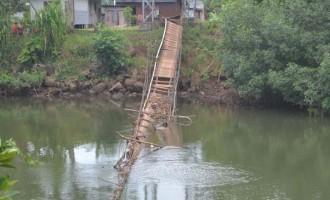 Chief Raises Concern Over Damaged Bridge