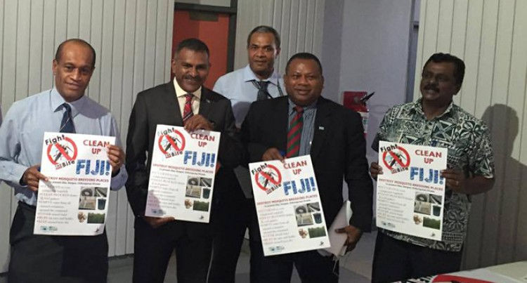 PM Launches 'Clean Up Fiji Drive'