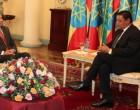 Ambassador Tikoitoga presents credentials