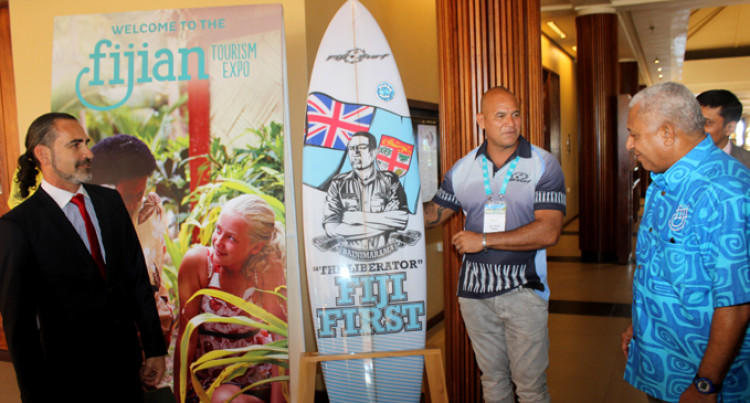 Fijian-Made Paddle Boards Showcased To Buyers At Expo
