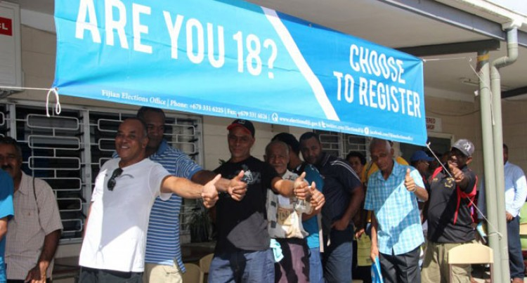 Voters Take Advantage Of EVR Centres