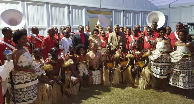RFMF Band Impresses Queen