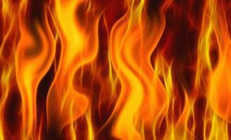 Fire Destroys Raviravi Timber Mill