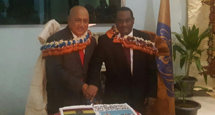 Ratu Inoke  Officially Opens  Addis Ababa Mission