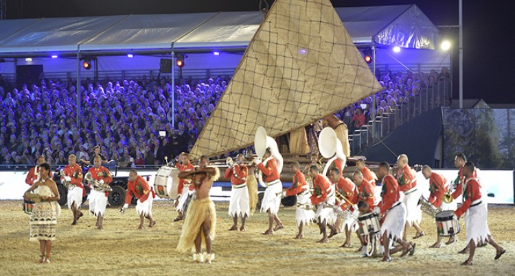 RFMF Band Wows Crowd  At Queen's Celebrations