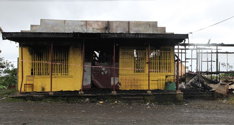 Tacirua Shop Owner Suspects Arson