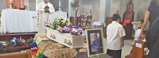 Family And Friends Farewell Mike Brook
