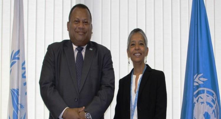 Seruiratu Meets WFP Deputy Regional Director