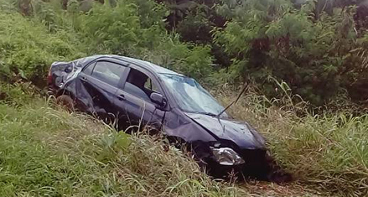 Another Car Takes Plunge Over Cliff In Nadera; Driver Survives