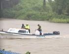 Bad Weather Delays Car River Salvage