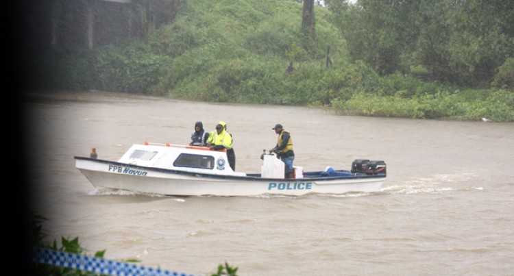 Bad Weather Delays Car River Salvage