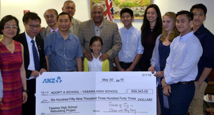 Friends In China Help Yasawa High School