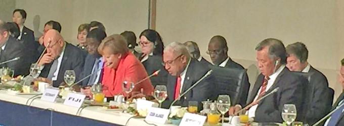 PM's Call At Summit