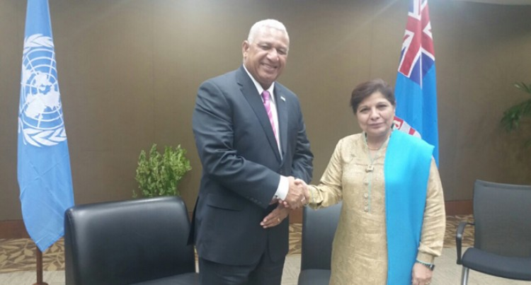 Fiji, UNESCAP Hold Talks
