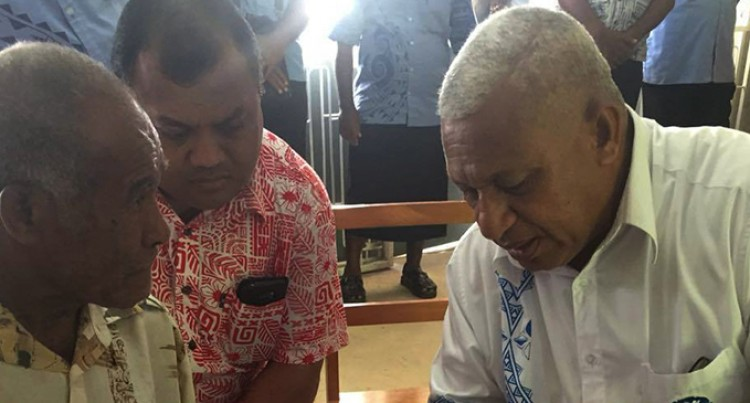 People Singing Bainimarama Praise For Rebuilding Assistance