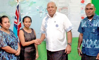 Nauru Fijian Community Donates For Relief Efforts