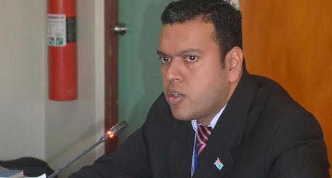 Article Causes Panic, Says MP Sudhakar