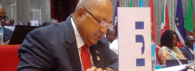 Ratu Inoke Holds Talks With ACP Counterparts