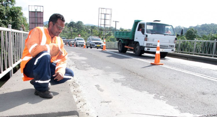 Fiji Roads: Fletcher Construction Appointed To Complete Works on Tamavua-i-Wai Bridge