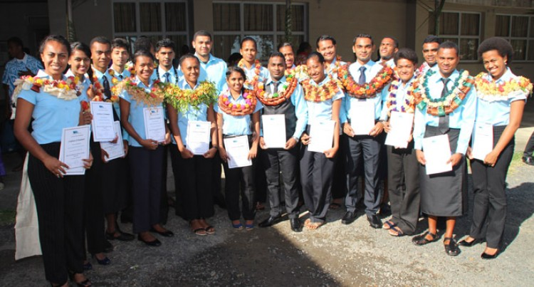 Air Traffic Controllers Graduate From Airports Fiji