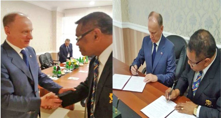 Russian Federation, Our Ministry Of  Defence Sign MOU