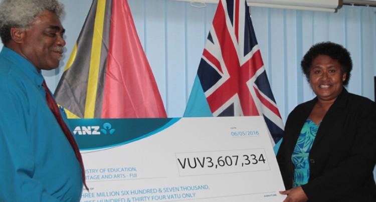 Vanuatu Donates For Education