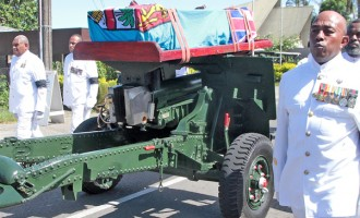 Military Farewells A Great Servant