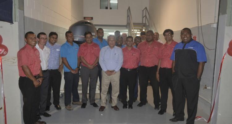 $100K Yamaha Denarau Service Centre Opens