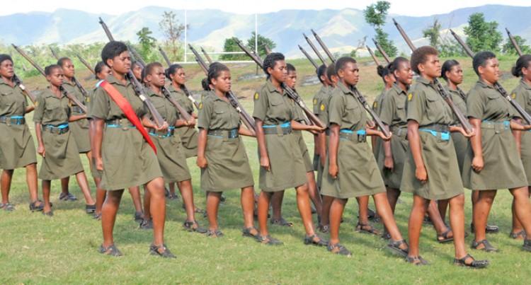 Cadets Display  Exemplary:  Tagicakibau