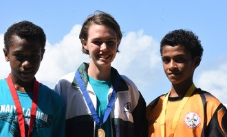 Maia Eyes The Melanesian Games