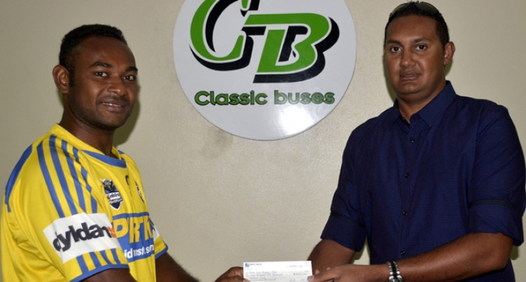 Nadi Eels Ride On Bus Sponsorship