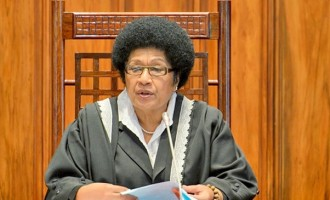 Speaker of Parliament, Dr Jiko Luveni, Dies at 72
