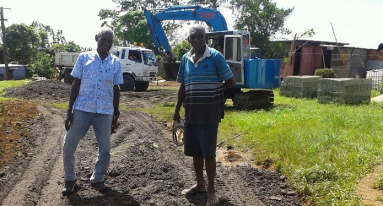 Road upgrade lifts burden at Veinuqa