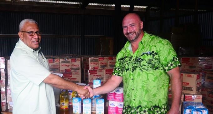 Goodman Fielder Donate Food Supplies For Rehabilitation Efforts