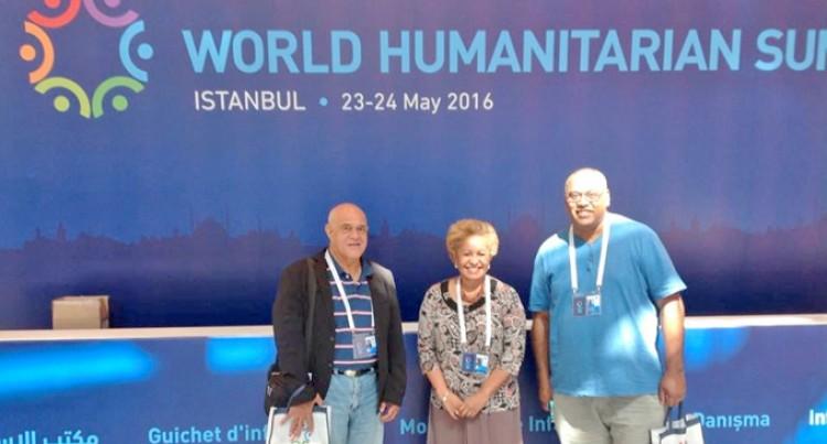 Fiji Is Well Represented In Humanitarian Summit In Istanbul