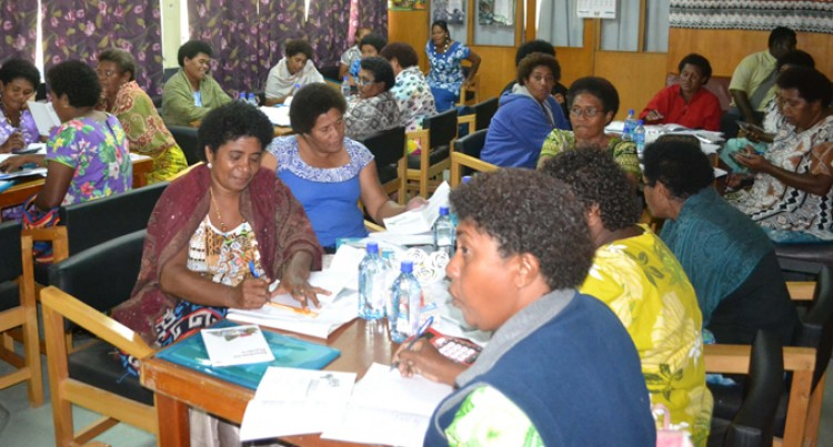 Labasa Market Vendors In Training