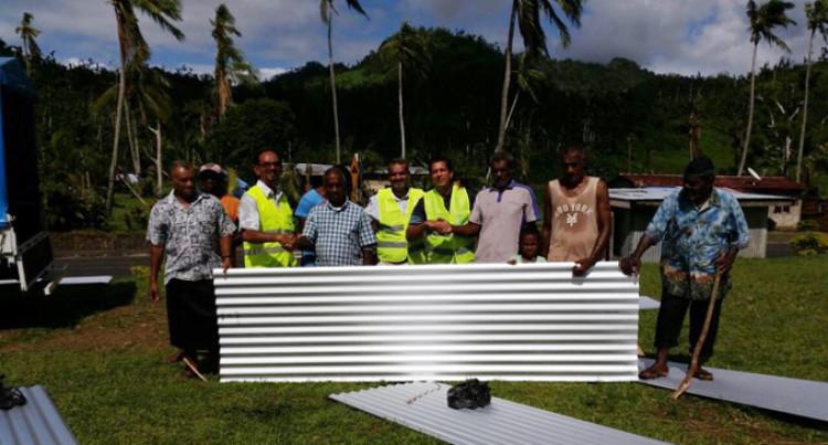 $12K Worth Of Materials For Nailega Village