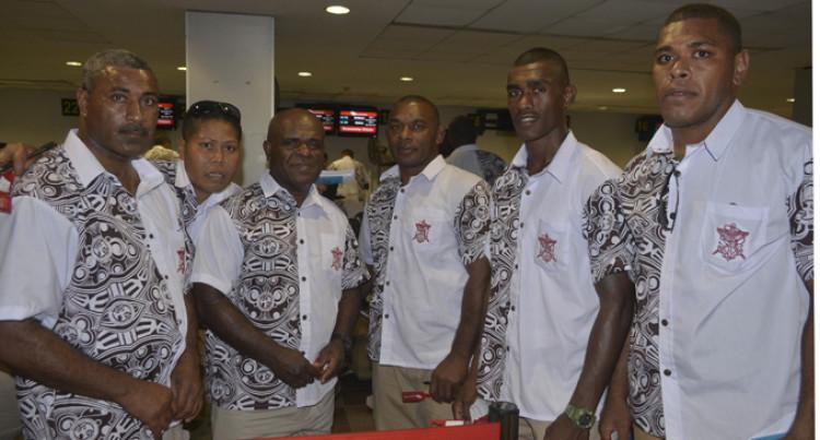 29 Depart For Peacekeeping
