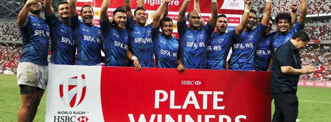 Samoans Take On Challenge