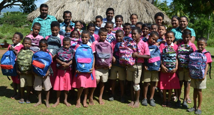 Students Boosted With New School Bags
