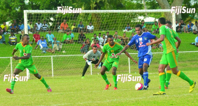 Lautoka Blues Lead Race