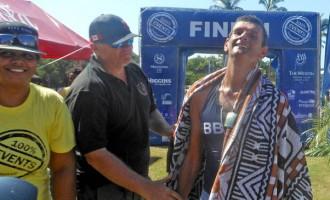 Sullivan Wins Triathlon