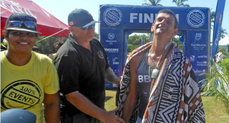 Sullivan Wins Triathlon