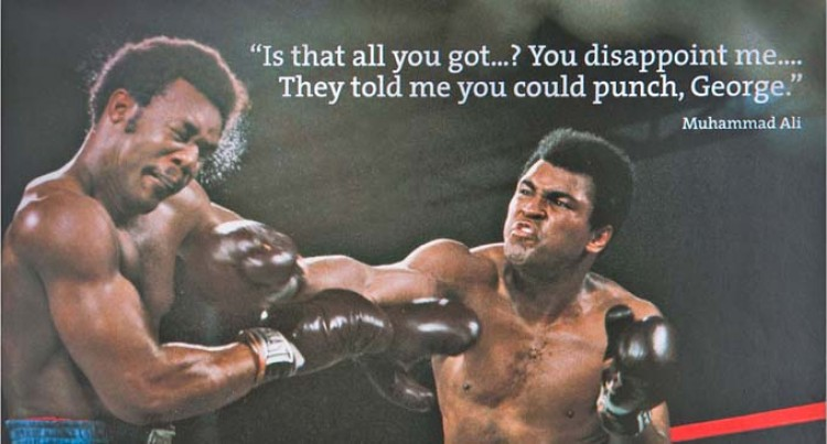 Muhammad Ali  'The Greatest'
