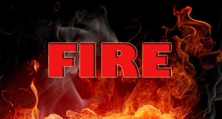 Fire Destroys Homes
