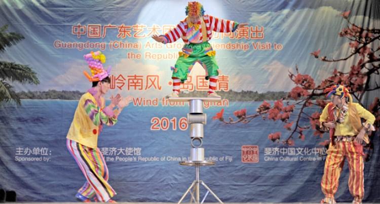 Chinese Acrobats Boost Fiji Showcase Entertainment