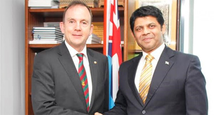 A-G Talks Climate Resilience With Indian, Dutch Envoys